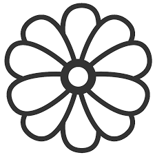 Small Picture 36 Coloring Pages Of A Flower Pretty Flower Coloring Pages Flower