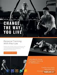 Training Flyer Templates Free Free Personal Trainer Flyer Template Word Psd Apple