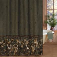 Shower Curtains Cabin Decor Wildlife Bathroom Decor Accessories For Lodge Or Cabin Cabin Place