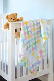 Baby Checks - Baby Quilt - Fons & Porter - The Quilting Company & Baby Checks - Baby Quilt Patterns Adamdwight.com