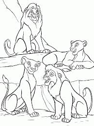 Small Picture Lion King Coloring Pages Simba And Nala Simba with flowers