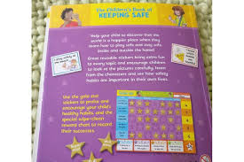Safety Habits Chart Star Reward Chart The Children S Book Of Keeping Safe