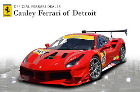 Every boy, and quite a few girls, have once dreamt of driving a blood red ferrari; Used 2017 Ferrari 488 Gtb Challenge For Sale 249 900 Cauley Ferrari Stock 229489