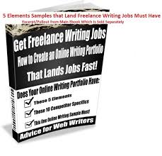 elements samples that land lance writing jobs must have usd 9 99