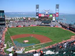 Free Download On The Giants At Att Park Pictured In San