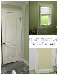 paint a room like a professional what s the correct order for painting a room