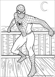 Small Picture Spiderman Color Page Spiderman Coloring Pages nebulosabarcom