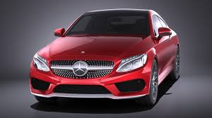 Mercedes-Benz C-class Coupe 2018 VRAY - Squir