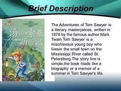 essay of tom sawyer adventures  essay of tom sawyer adventures ldquo