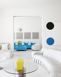 White room ideas Scandinavian Elle Decor 46 White Room Decorating Ideas How To Use White Wall Paint Decor