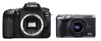 Canon Digital Slr Comparison Chart Canon 90d Vs M6 Mark Ii