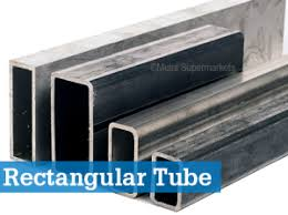 Rectangular Tube Dimensions Chart Rectangular Tube Metal Supermarkets Steel Aluminum