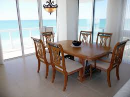 coastal dining room sets rectangular rustic brown dining table sets minimalist white parson dining chairs white