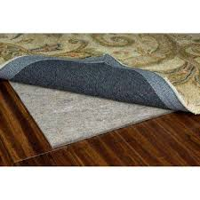 premium all surface gray 5 ft x 8 ft rug pad