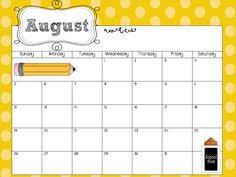Free Printable School Calendar Editable School Calendar Rome Fontanacountryinn Com