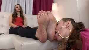 Lesbian Stinky Feet Domination