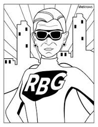 this ruth bader ginsburg coloring book is perfect for women s history month