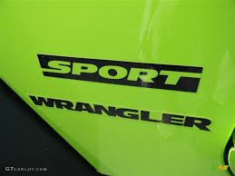 jeep wrangler sport logo. Brilliant Logo 2012 Jeep Wrangler Sport S 4x4 Marks And Logos Photo 70705820 On Logo E