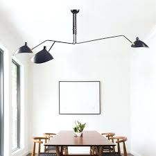3 arm ceiling light and com lamp 6 serge with lights duckbill replica rotating dining 3 arm ceiling lamp