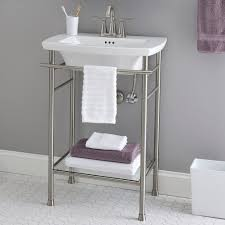 console sink with metal legs best of edgemere sink top 4 inch centers