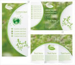 Green Brochure Template 17 Environmental Brochure Templates Free Pds Ai Vector Eps