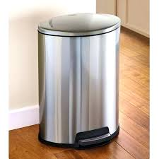 metal kitchen trash can kitchen outstanding stainless steel trash cans metal kitchen can regarding kitchen trash