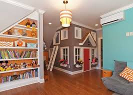 cool basement ideas for kids. A-M-A-Z-I-N-G Second Bonus Room That Is Easily Every Child\u0027s Dream Space! Custom Shelves, Playhouse W/electricity And Loft! It Would Be Fun To Build The Cool Basement Ideas For Kids I