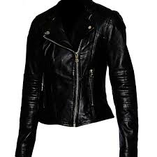scarlett johansson civil war black leather jacket