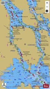 St Marys River Vicinity Of Neebish Island Marine Chart