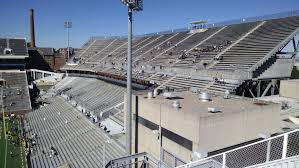 Bobby Dodd Stadium Upper Level Endzone Football Seating