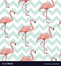 Flamingo Pattern Beauteous Seamless Flamingo Pattern Royalty Free Vector Image
