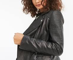 oasis leather jacket black 4