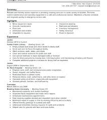 Hospital Equipment Repair Sample Resume Stunning Sample Resume Hospital Maintenance Feat Download Facility