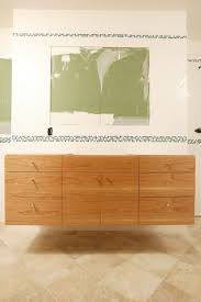 Unfinished Oak Bathroom Cabinets Bathroom Small White Floating Bathroom Vanity With Wall Shelving