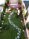 Amnager un petit jardin pour donner une impression d espace