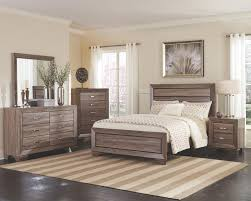 Coaster Furniture Kauffman 4-Piece Panel Bedroom Set in Washed ...