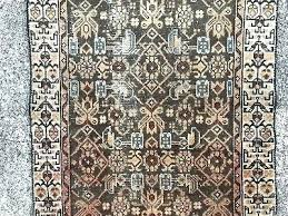 runner rugs 14 feet long rug 5 of wool hand knotted antique brown vintage furniture black