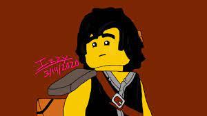 Ninjago fan art: Season 12 (S11 Gi) Cole - YouTube