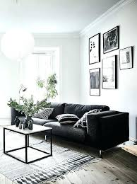 black leather sofa decor.  Black Grey Leather Couch Decor Gray Sofa Archives Blueprint  Furniture  For Black Leather Sofa Decor U