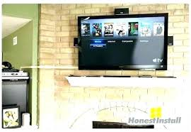 mounting tv over fireplace mounting above fireplace