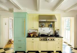 Yellow Kitchen 12 Kitchen Cabinet Color Combos That Really Cook This Old House