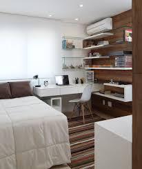 small bedroom office ideas. Quartos Bem Projetados Acomodam Mais Coisas. Adoramos Essa Ideia! Espia As Prateleiras, Que Charme! Small Bedroom Office Ideas F
