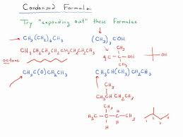 what is structural formula condensed formula exercises 1 youtube