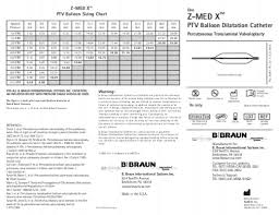 Ptv Org Chart Instructions For Use Z Med Ptv B Braun Interventional Systems