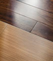 hardwood flooring kitchen with brick and wood floor tile to wood floor transition tile to