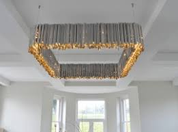 contempory lighting. Square Facet Chandelier Contempory Lighting