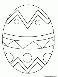 One of our favorite activities to do together as a family (besides board games) is coloring. Free Printable Easter Egg Coloring Pages Coloring Home