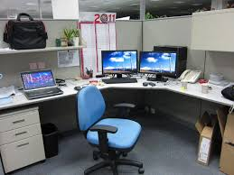tidy office. Bright And Tidy Cubicle - Teradyne Office