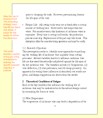 Research Document Template Research Reports