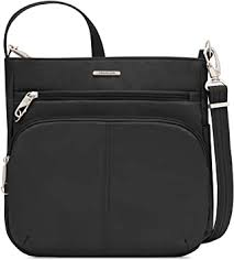 Travelon Anti-Theft Classic N/s Crossbody, Black - Amazon.com